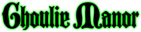 Ghoulie Manor Logo
